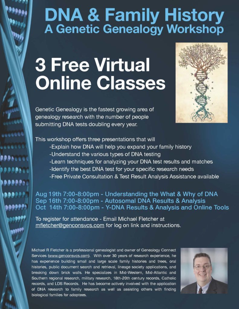 DNA Course Flyer